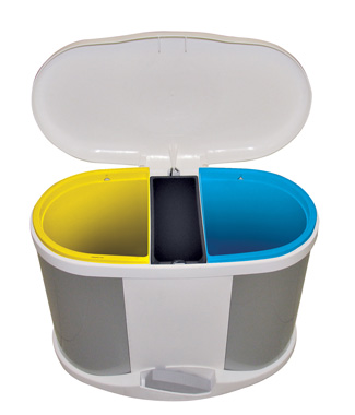30 l recycling waste separation bin - Meliconi