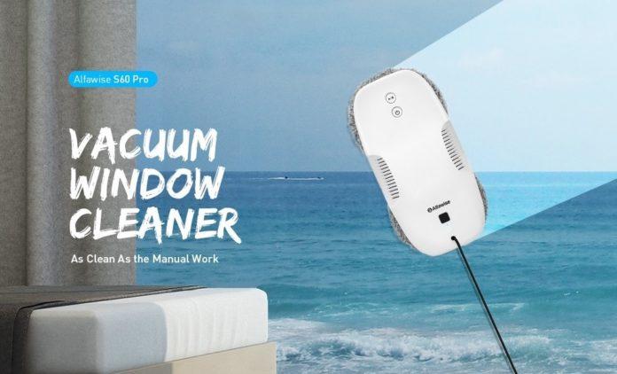Alfawise S60 Pro, il lavavetri automatico super sottile in offerta