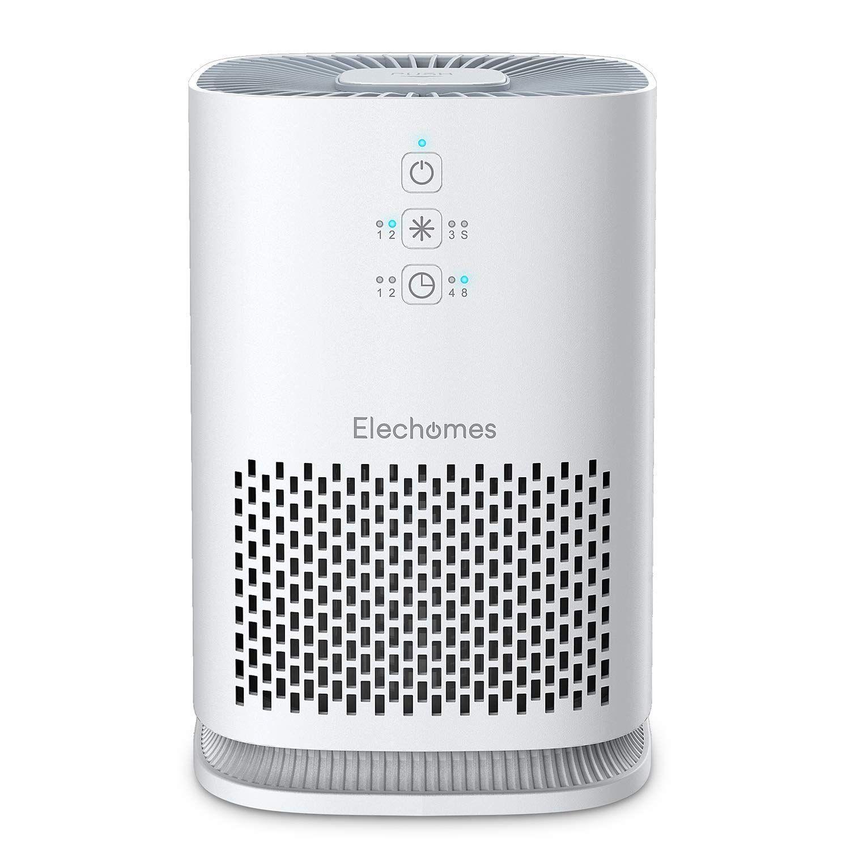 Elechomes Purificatore d'aria per casa con filtro HEPA per chi