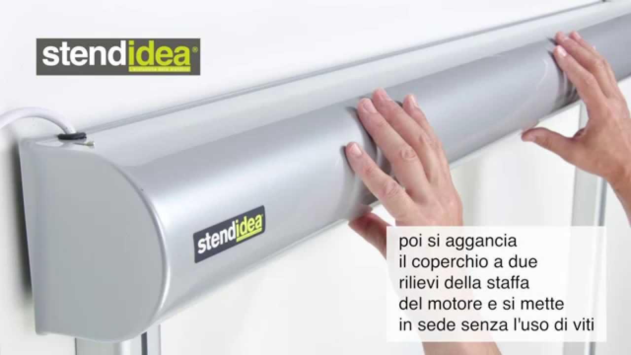 Stendibiancheria elettrico   Come si installa il modello Stendidea