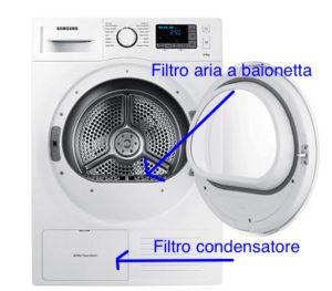 Asciugatrice a pompa di calore - Ditta Bertilotti Riccardo