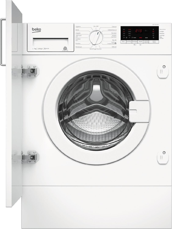 Beko Lavatrice da Incasso Capacità di carico 7 Kg Classe