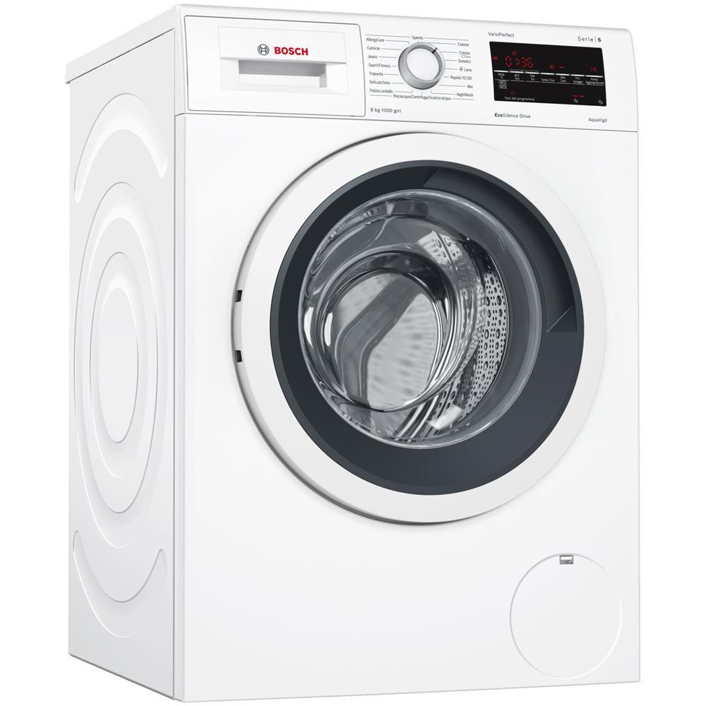 BOSCH - Lavatrice Standard WAT20438II Eco Silence Drive 8 Kg