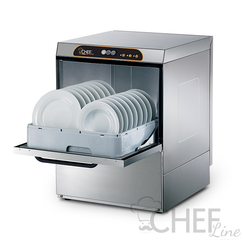 Lavastoviglie Professionale Elettromeccanica D5037T - Chefline