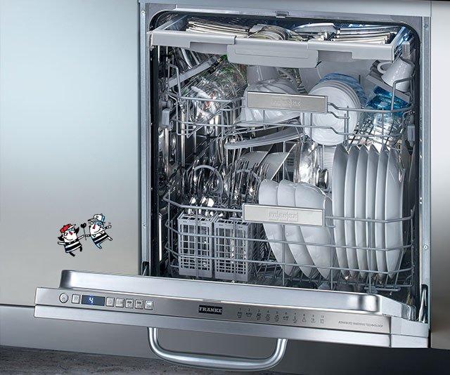 Scopri le lavastoviglie ad incasso adatte ad ogni tua esigenza| Franke