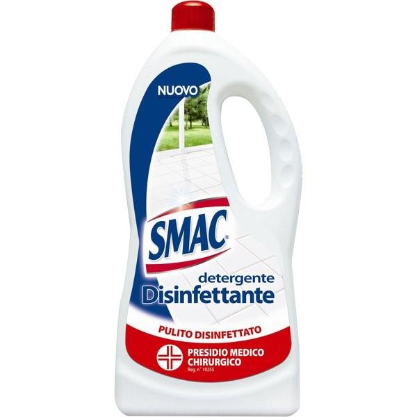 Detergente per pavimenti Smac Sgrassatore disinfettante 1 litro