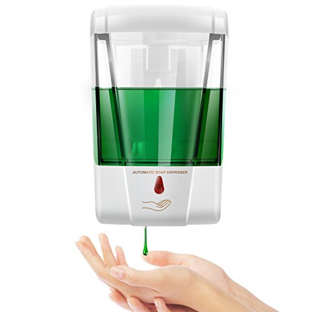 Dispenser per sapone liquido e gel igienizzante - Automatico - 600ml