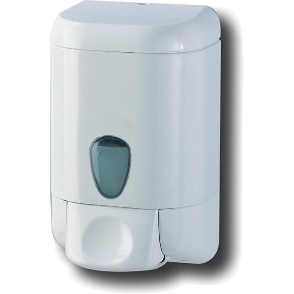 Dispenser a muro 1lt bianco per sapone liquido plus