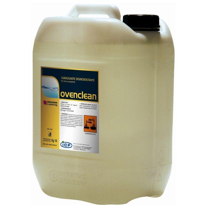 Detergente sgrassante per forni autopulenti Ovenclean | Igiene al