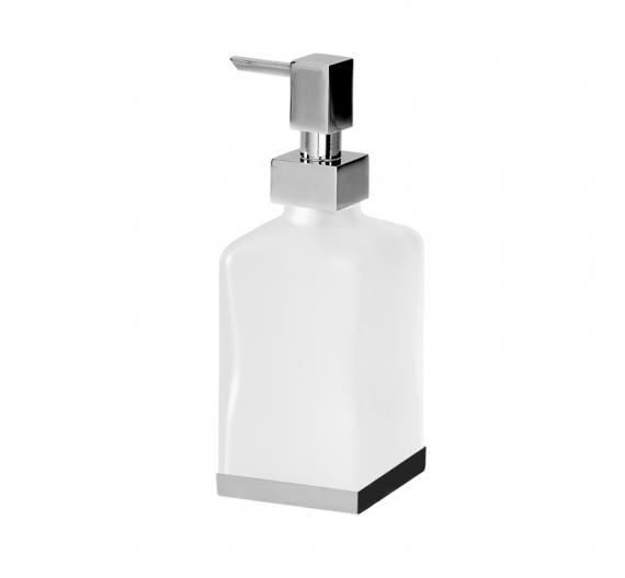 Dispenser porta sapone liquido da appoggio con dispenser erogatore