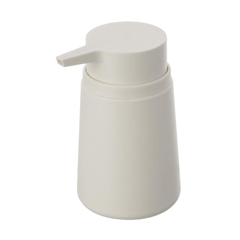 Dispenser Sapone Bagno Liquido Bianco da Appoggio