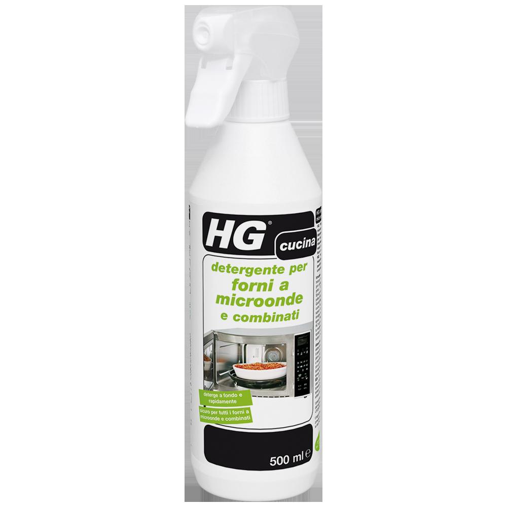 HG detergente per forni a microonde e combinati   detergente microonde